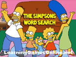 The Simpsons Word Search